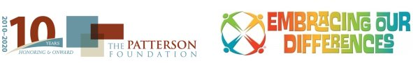 Logo_The Patterson Foundation_Embracing Our Difference