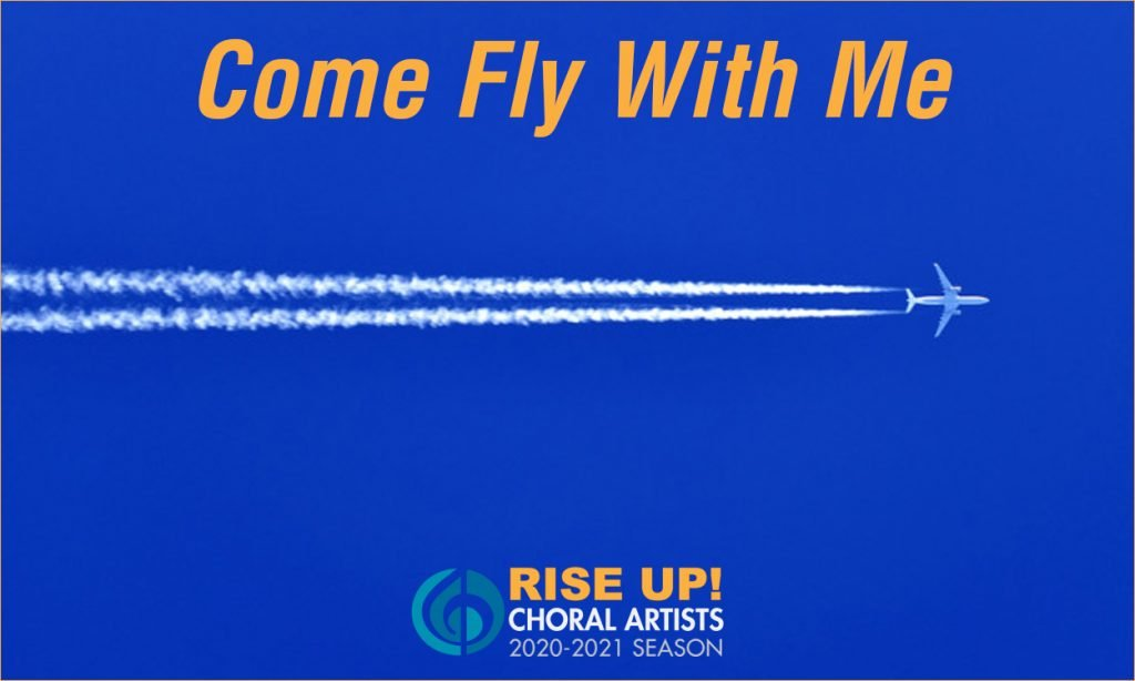 come fly with me image with a plane